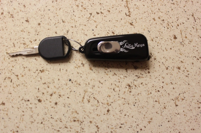 Lazy keys is convenient , elegant and it gives you easy access to your keys with the simple push of  a button..