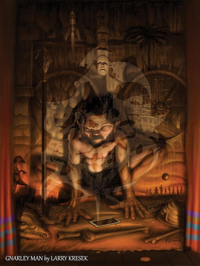 The Gnarly Man by Larry Kresek