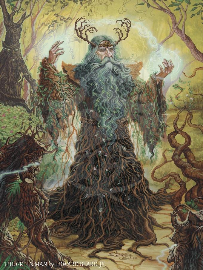 The Green Man by Ed Beard Jr.