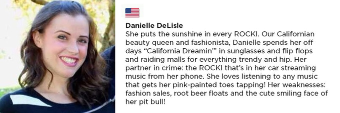 Editors note: she really means pit bull her dog, not Pitbull the rapper :-)