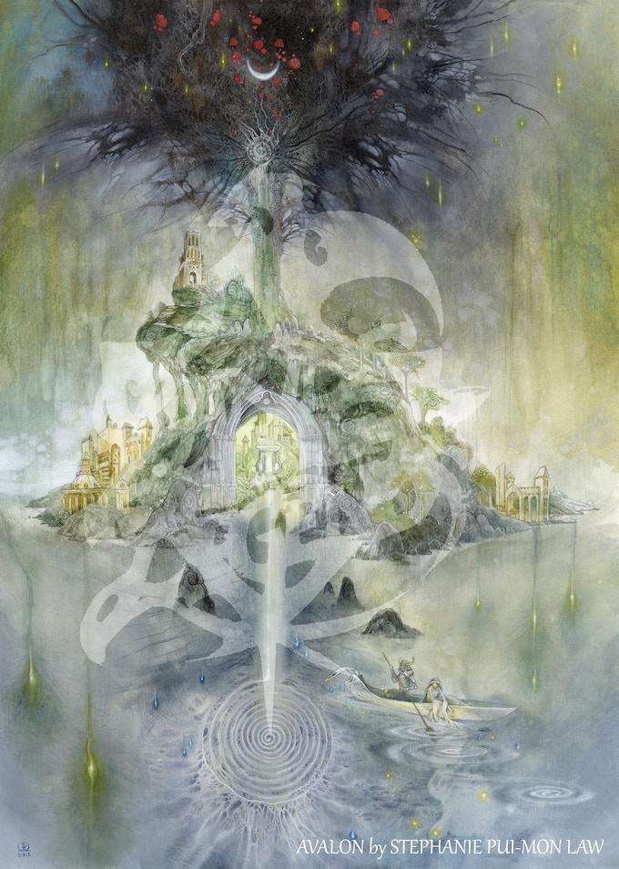 Avalon by Stephanie Pui-Mun Law