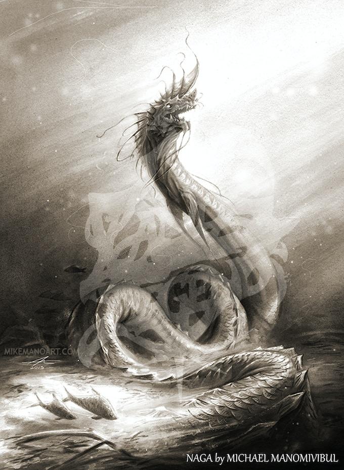 The Naga by Michael Manomivibul