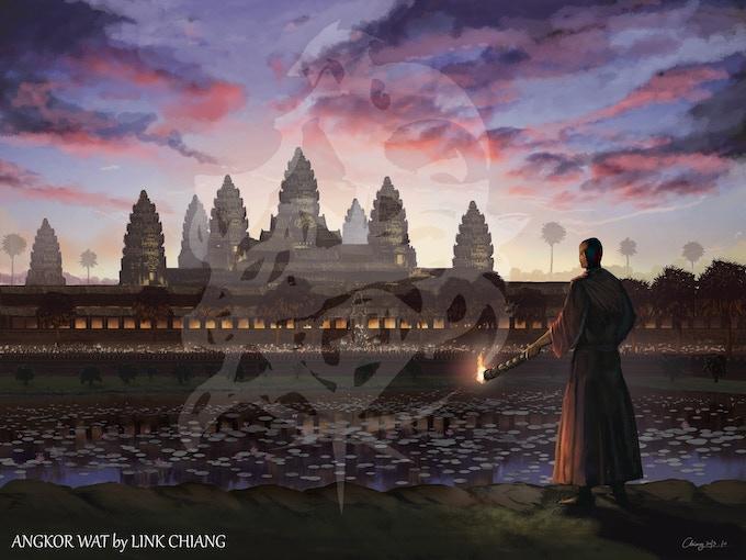 Angkor Wat by Link Chiang