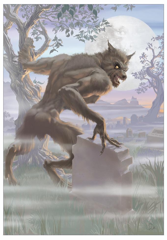 The Werewolf by Daerick Gross Sr.