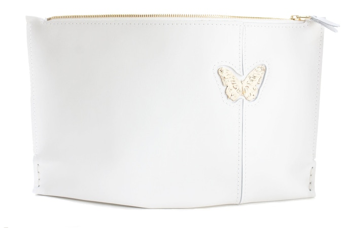 White with Butterfly