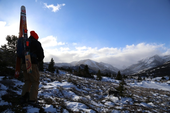 Ry Phipps in the Bob Marshall Wilderness