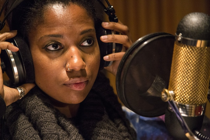 """Integriti Reeves recording Billie Holiday's """"Tell Me More and Then Some and Then Some"""""""