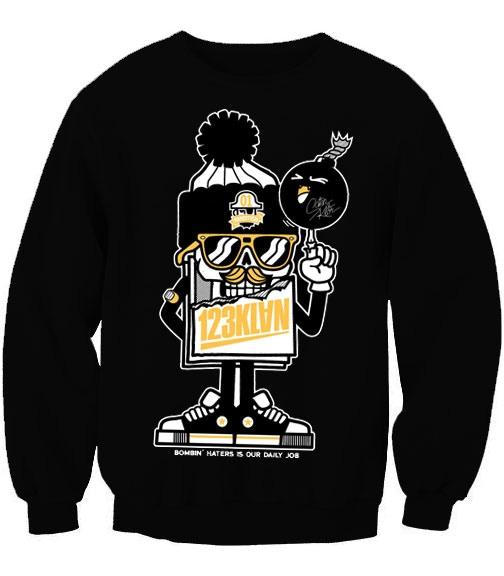 NEW Added Reward! 123Klan SIGNED sweatshirt! (80$)