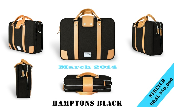 """Finally, Pre-order this """"Hamptons"""" BLACK, be the first to own this amazing bag. pledge now"""