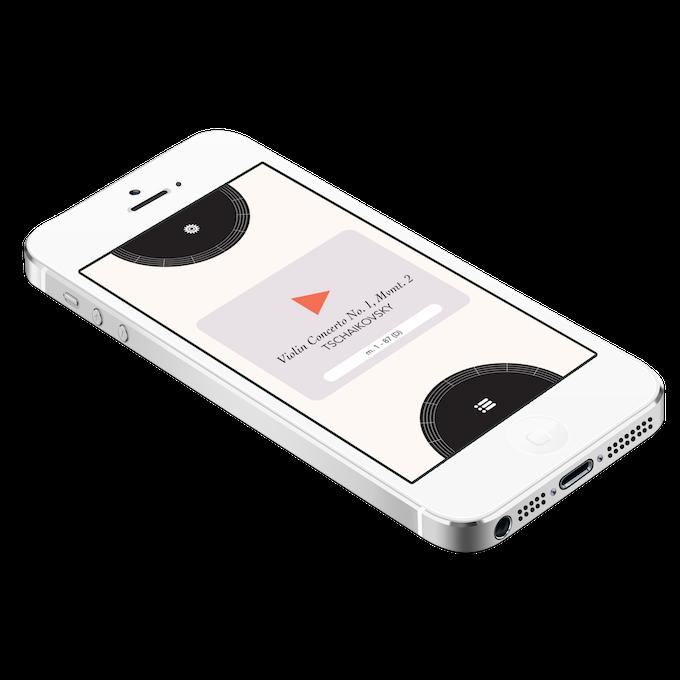 Prototype of Cadenza for iPhone