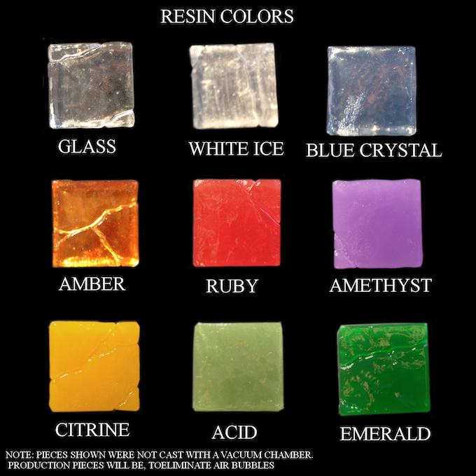 Resin Color Options for Resin Tile Sets