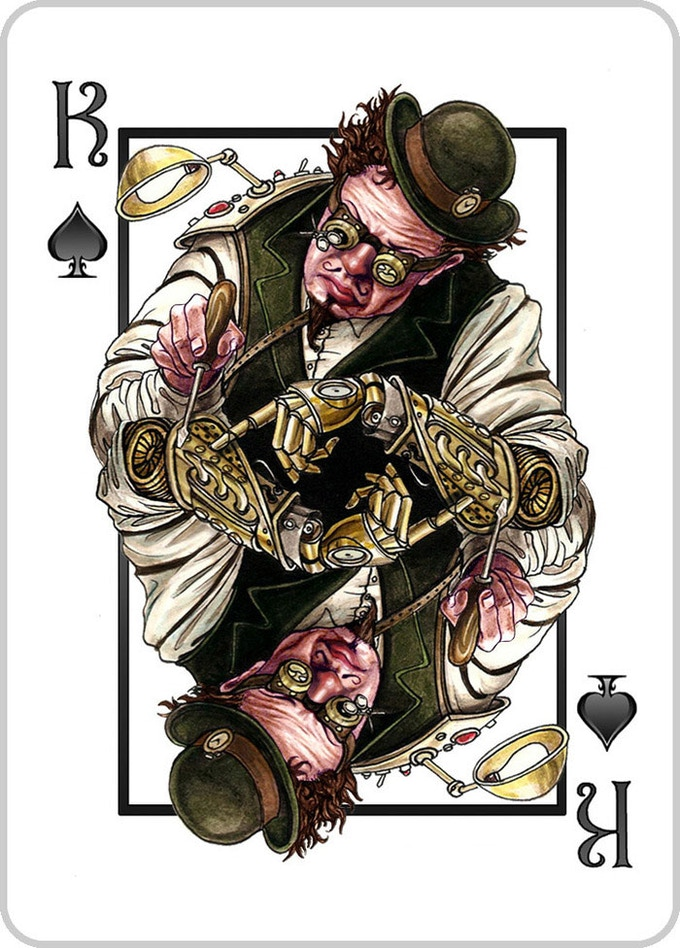 King of Spades - The Tinker - CLICK TO SHARE ON PINTEREST