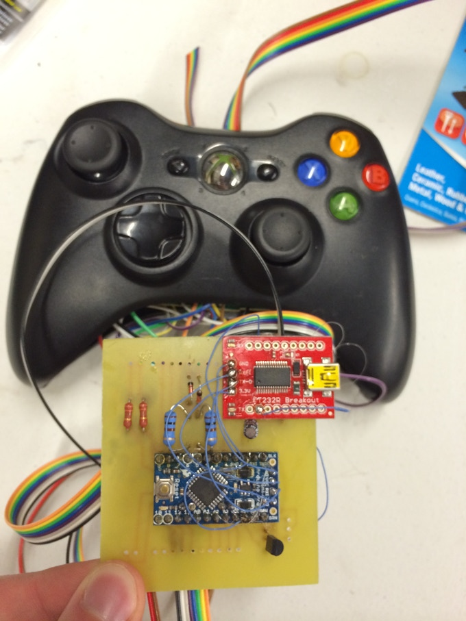ABXY - An Arduino platform for the Xbox 360 controller by Kevin