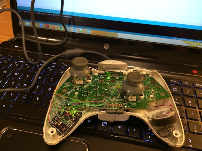 ABXY - An Arduino platform for the Xbox 360 controller by