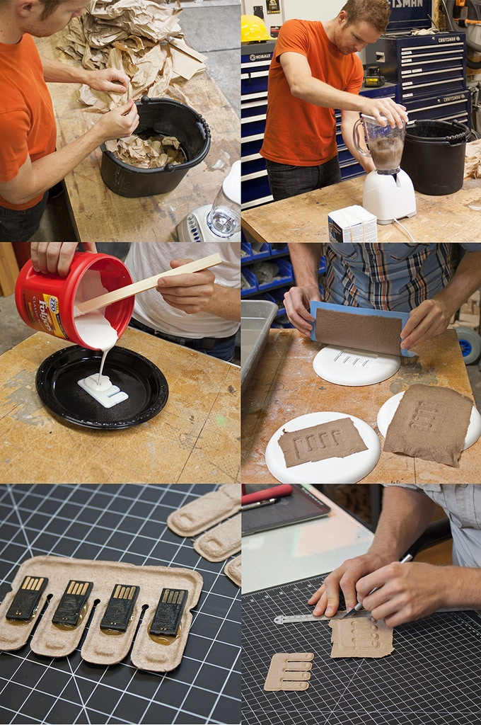 Handmaking early prototypes