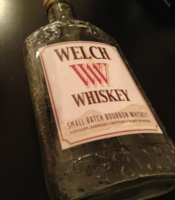 """""""WELCH WHISKEY"""" ... designed by our Production Designer - Matt Shively"""
