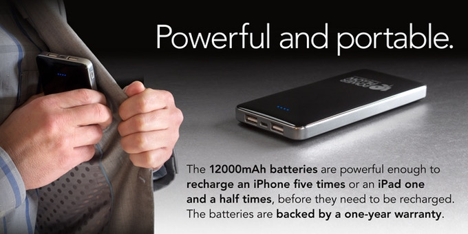 *Please help us reach our stretch goal of making our batteries available in black.