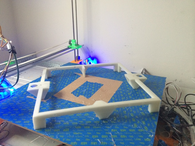 The Prototypes Frame has been Printed!!
