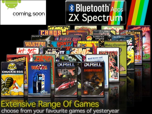 Arising from recent progress with the development of the ZX Spectrum: Elite Collection app for Android devices, we're now able to invite pledges for the Bluetooth ZX Spectrum device and for the ZX Spectrum: Elite Collection app for selected Android device