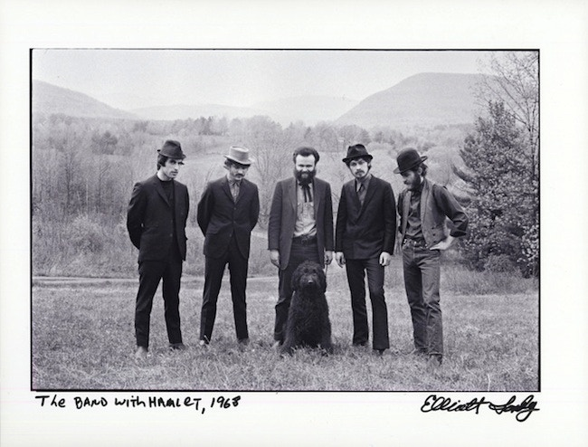 """""""The Band with Hamlet, 1968."""" This 8x10"""" Fine Art Pigment print will be included in every Deluxe Limited Edition book."""