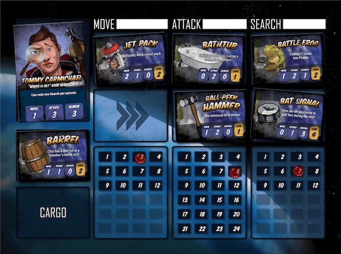 Player Board Sample