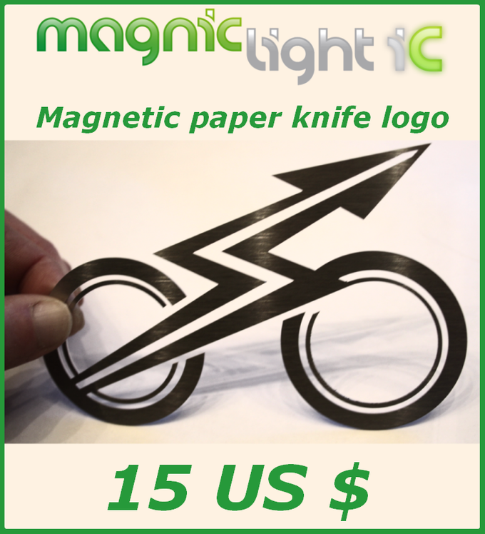Get the magnetic Magnic Light logo. I use it as a paper knife or for sticking letters to the wall.