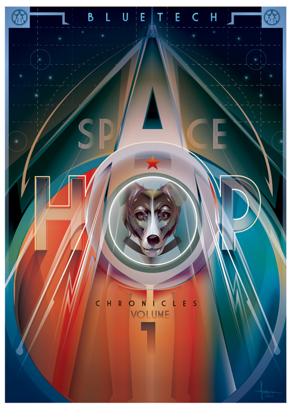 SpaceHop Chronicles Poster Art