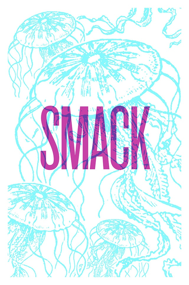 A Smack of Jellyfish (poster/card design)