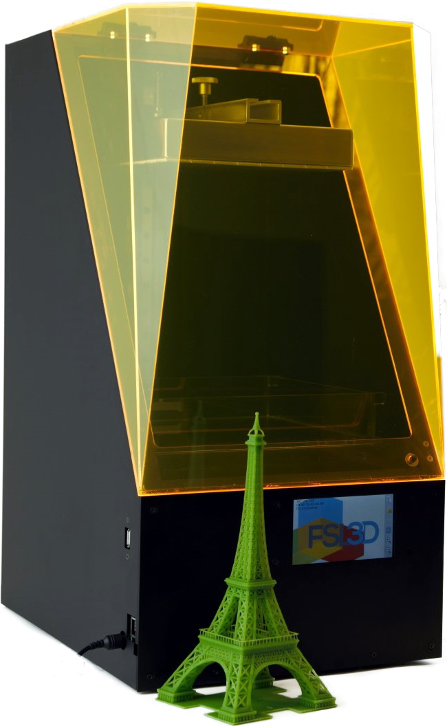 Pegasus Touch: Laser SLA 3D Printer