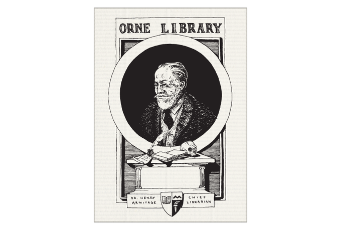 (#9) Dr. Armitage, Chief Librarian of the Orne Library