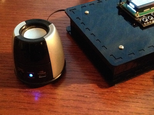 Sound Port for Amplified Mono or Stereo Speaker