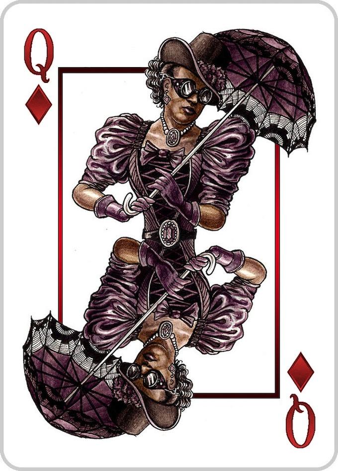 Queen of Diamonds - The Duchess
