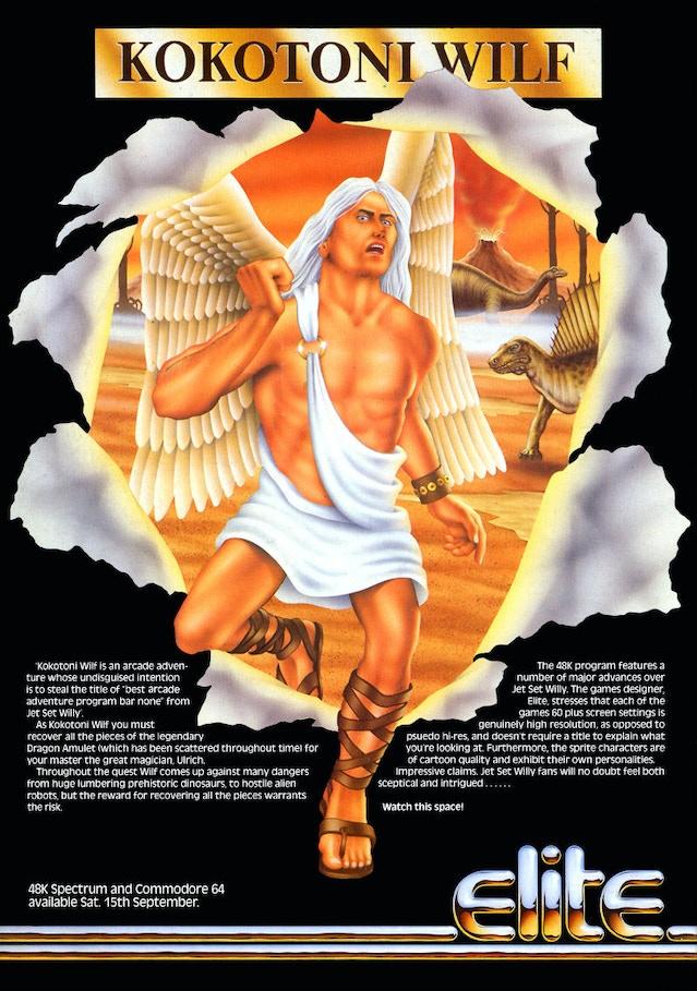 Kokotoni Wilf, Elite®'s First Game For The ZX Spectrum et al