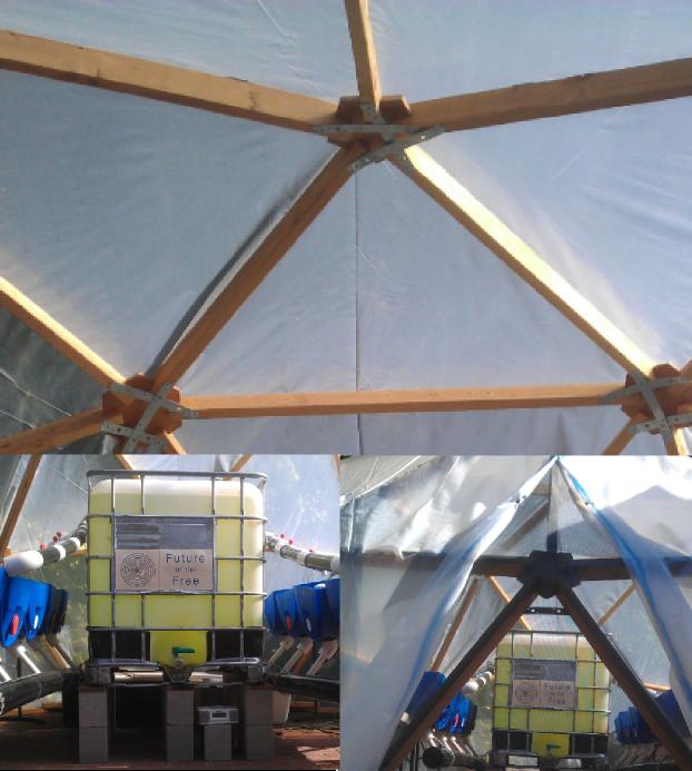 Easy DIY Gesdesic Bio Dome Kits