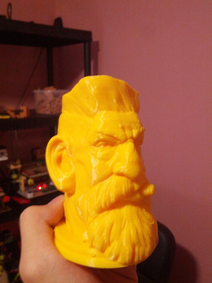 Printed by Mix G1 Plus @50mms/0.12mm Layer Height using PLA