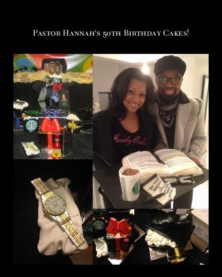 JordyCakes creations for Pastor Hannah of New Life Covenant Church