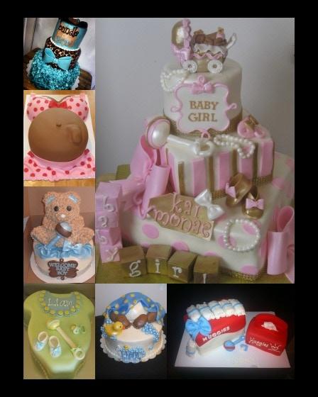 JordyCakes Baby Shower cakes