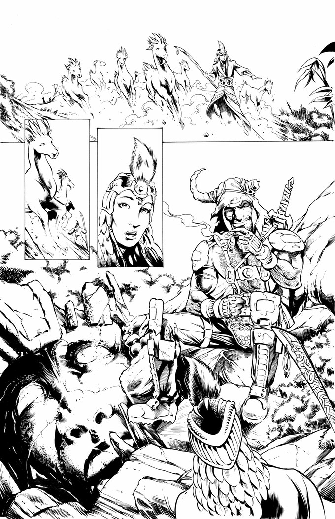 Jake's inks on the Rul page