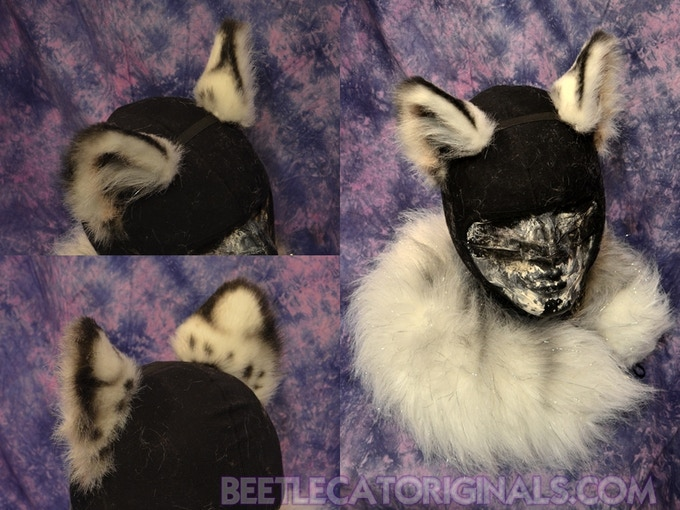 Realistic Animal Costume Ears on A Headband by Deanna Petro