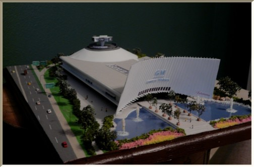 Scale Model of the General Motors Pavilion