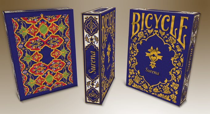 Surena The Persian Bicycle Playing Cards Uspcc By Diba