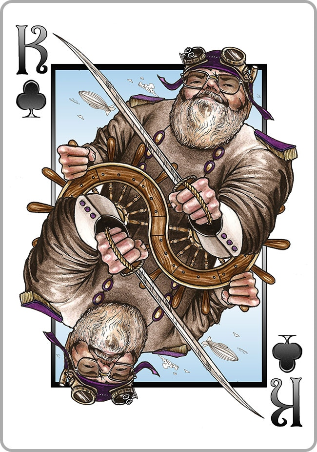 King of Clubs - The Good Zeppelin Captain