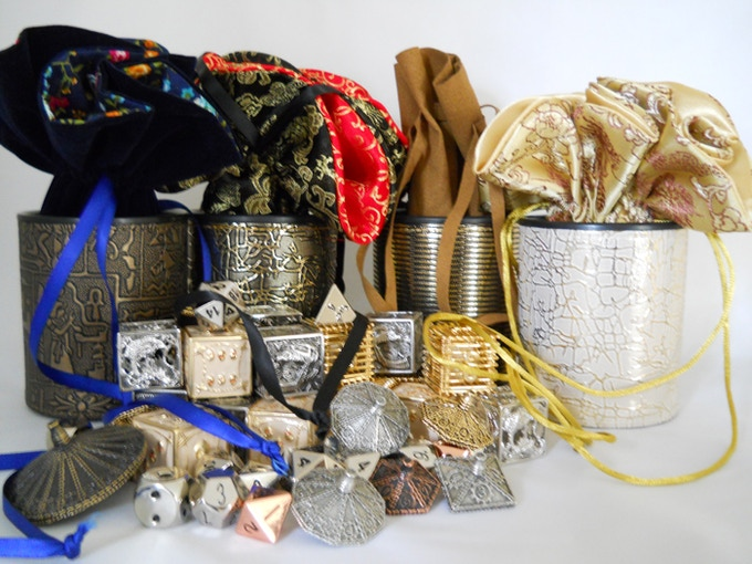 Rhythm Metal Dice, Bags and Cups Collection
