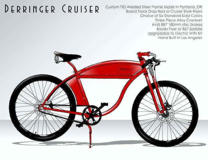 $1800 - Derringer Cruiser Bicycle