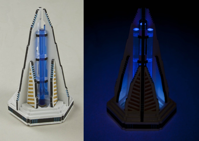 Once unlocked, and lit, ARC Pylons can be quite spectacular. (LEDs not included)