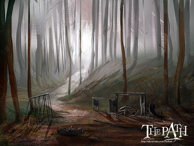 The Path; Tale of Tale's PC arthouse hit (Art by Stacey Diana Clark)