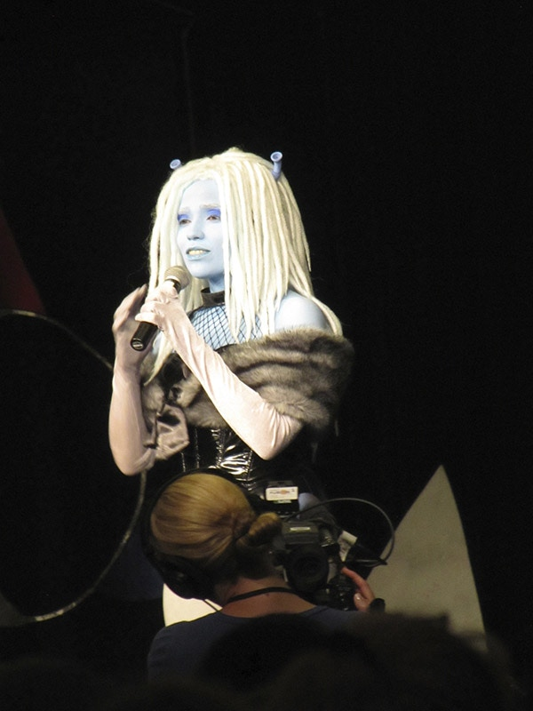 Me in the Miss Star Trek Universe Pageant at DragonCon 2013