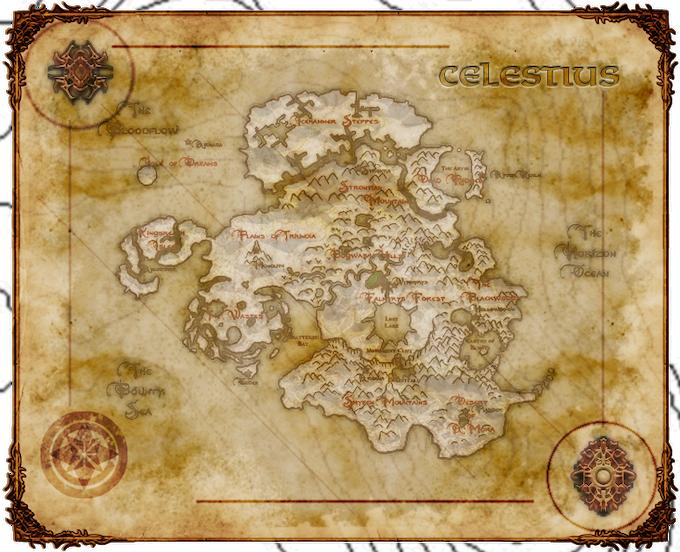 Concept of The Continent of Celestius