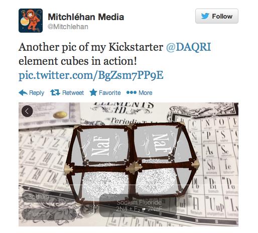 Elements 4D Interactive Blocks by DAQRI — Kickstarter