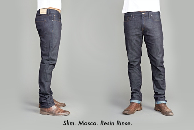 Fit - Slim; Fabric - 'Mosco' (98%Cotton/2%Elastane); Wash - Resin Rinse